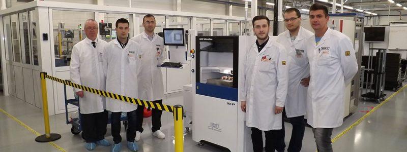 Punere in functiune a unei masini cu laser, LPKF Microline 2820 P, la CONTINENTAL AUTOMOTIVE SYSTEMS S.R.L. Sibiu